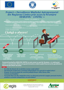 Afis informatii selectie Grup Tinta_Proiect DEMOFIN-CENTRU_POCU.82.3.7-105544